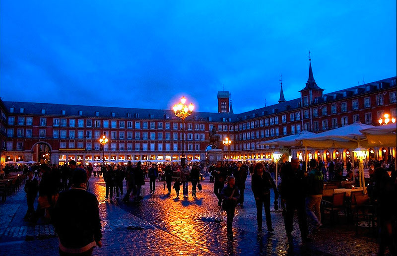 PLAZA-MAYOR--MADrid
